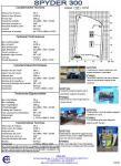 Vendesi ottimo usato - Piattaforma per lavori aerei a Ragno - marca CELA S.p.a. - mod. Spyder300: 111_spyder300