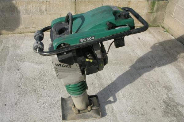 : WACKER BS 500_BS 500_Compattatori verticali