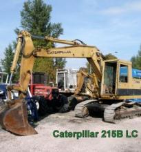 : Caterpillar_CAT 215B LC_Escavatori