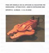 : NPK_35X_Accessori per escavatori