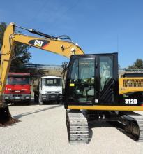 : CATERPILLAR_312 D_Escavatori